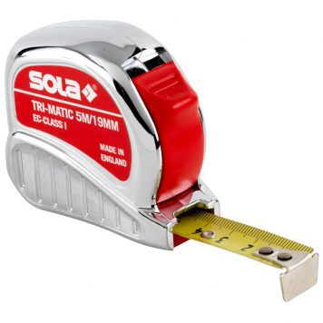 Sola Rollmeter (25 mm) Tri-Matic  TM 10 m